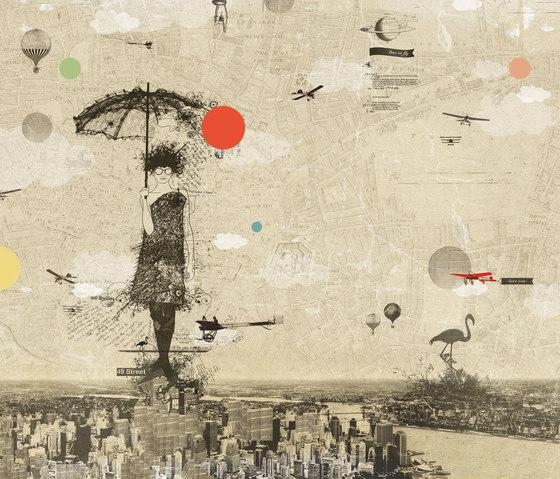 Sarah by Wall&decò | Wall art / Murals