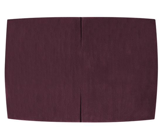 Feringe Convex plum di Kateha | Tappeti / Tappeti d'autore