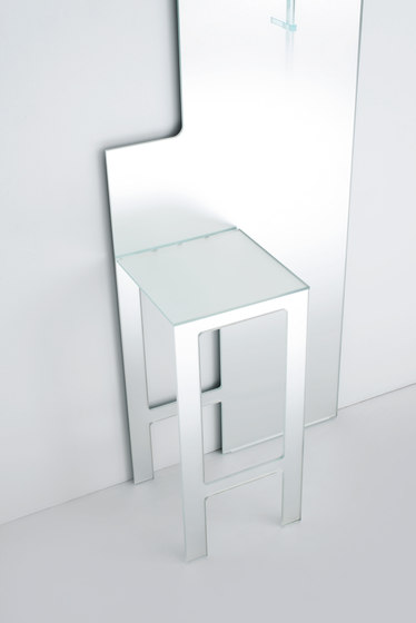 Mirror Stool by Glas Italia | Mirrors