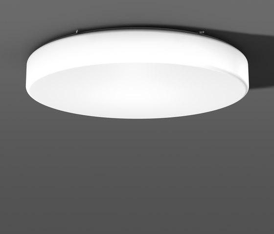 Flat Polymero® Kreis and Kreis XXL ceiling and wall luminaires by RZB - Leuchten | General lighting