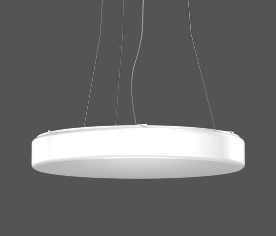Flat Polymero Circle XXL PL pendantlight by RZB - Leuchten | General lighting