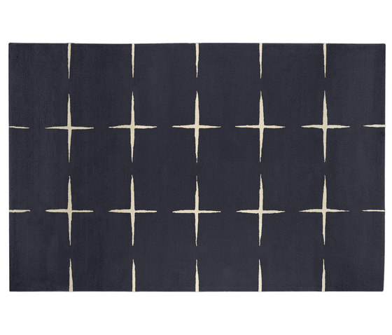 Stars steel grey de Kateha | Alfombras / Alfombras de diseño
