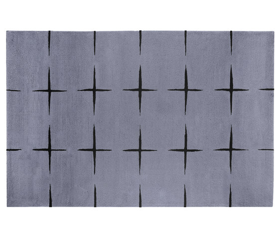 Stars light grey by Kateha | Rugs / Designer rugs