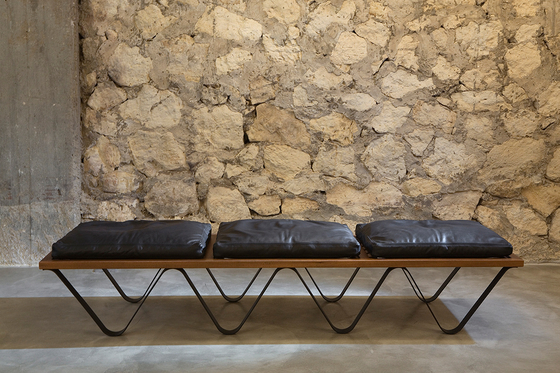 Grande Vague by Karen Chekerdjian | Waiting area benches