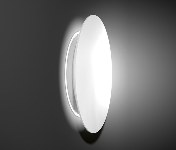 Mondana Semi-recessed ceiling and wall luminaires by RZB - Leuchten | Recessed wall lights