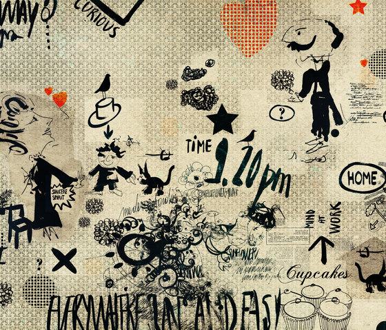 Monsieur Didot by Wall&decò | Wall coverings / wallpapers