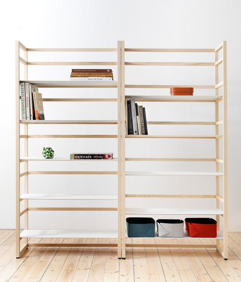 Tre High de Abstracta | Shelving modules