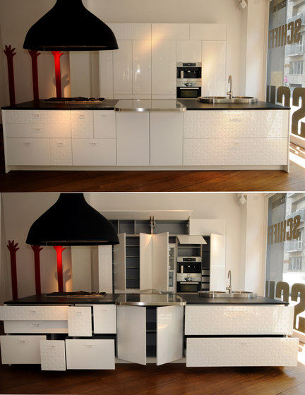 Mesa by Schiffini | Fitted kitchens