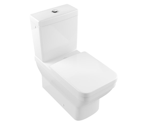 Architectura Washdown WC for close-coupled WC-suite by Villeroy & Boch | Toilets