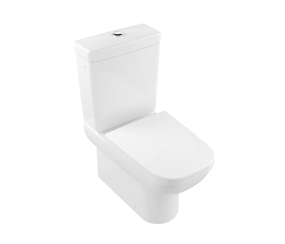 Joyce Washdown WC for close-coupled WC-suite by Villeroy & Boch | Toilets