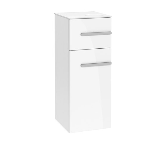 Joyce Side cabinet with app surface by Villeroy & Boch | Vanity units