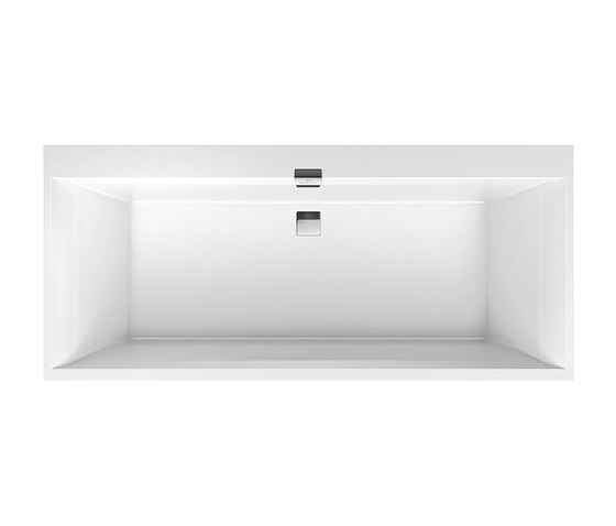 Squaro Edge 12 Bath by Villeroy & Boch | Built-in bathtubs