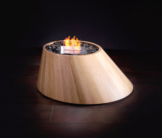 Cone by Brandoni | Ventless ethanol fires
