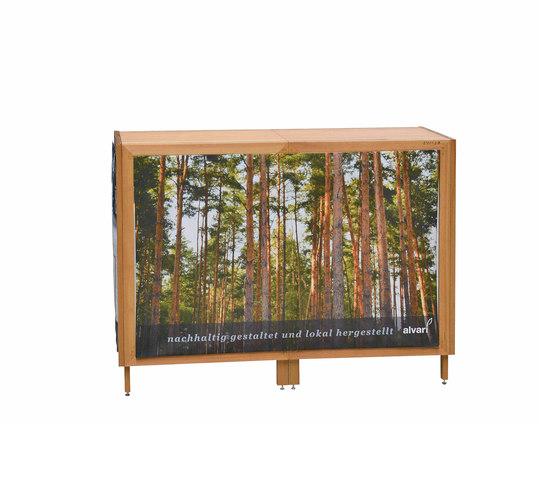 Fair display-standing table by Alvari | Display walls