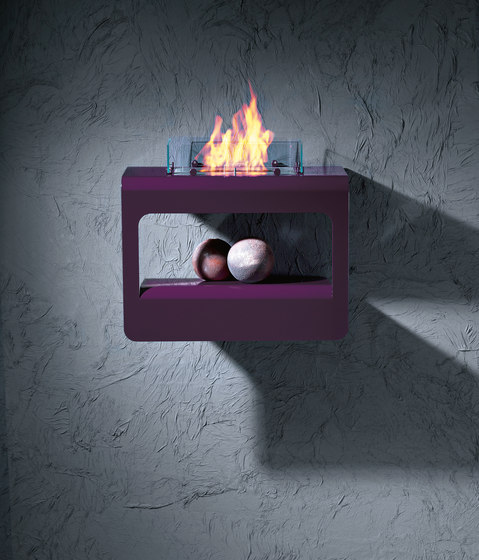 Open by Brandoni | Steel stoves
