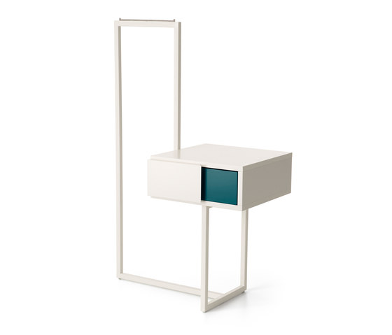 Teca bedside table dressboy by Quodes | Freestanding wardrobes