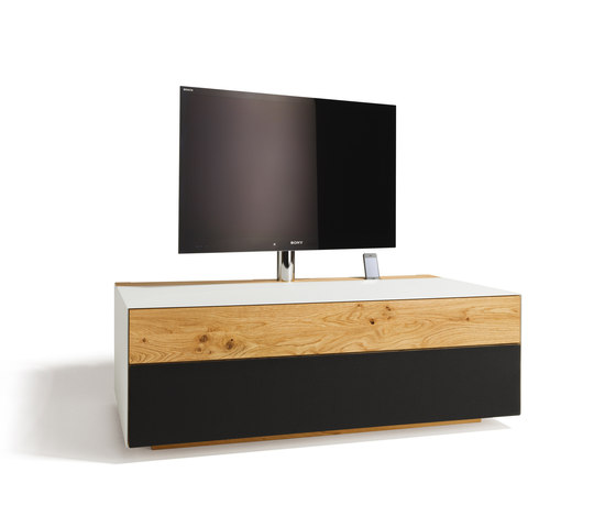 cubus pure Home Entertainment de TEAM 7 | Muebles Hifi / TV