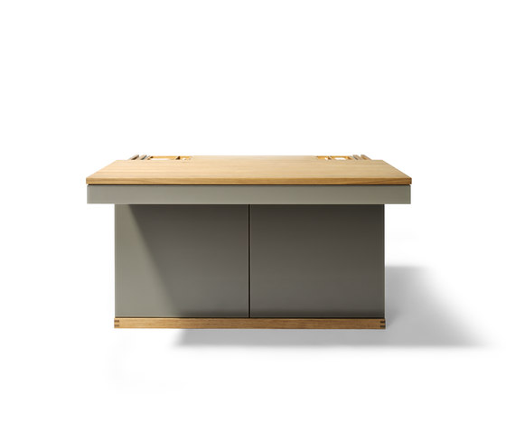 cubus writing desk by TEAM 7 | Bureaus