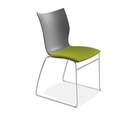 Onyx I 2231/00 by Casala | Visitors chairs / Side chairs