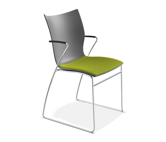 Onyx I 2231/10 by Casala | Visitors chairs / Side chairs