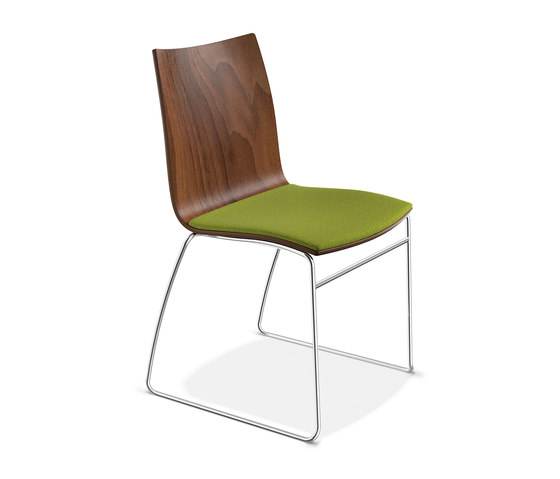 Onyx I 2241/00 by Casala | Visitors chairs / Side chairs