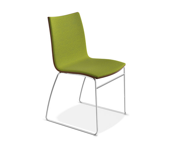 Onyx I 2442/00 by Casala | Visitors chairs / Side chairs