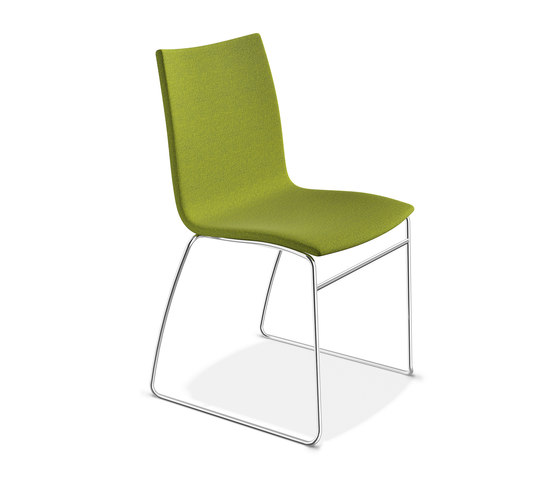 Onyx I 2443/00 by Casala | Visitors chairs / Side chairs