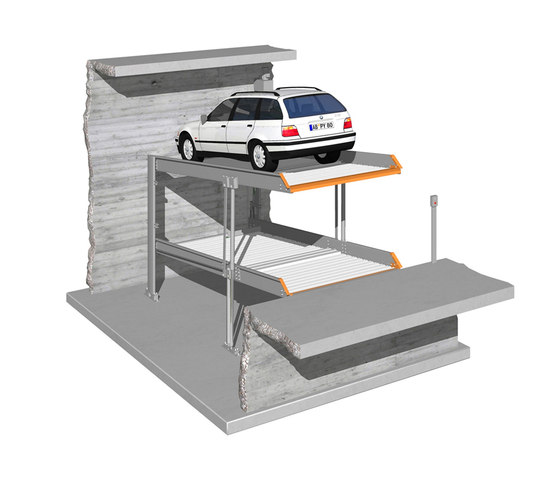 MultiBase 2042 by KLAUS Multiparking | Mechanic parking systems