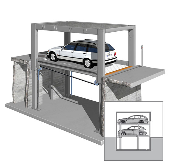 MultiBase U1 by KLAUS Multiparking | Parking systems