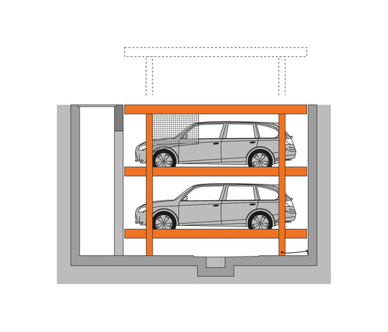 U20 by KLAUS Multiparking | Mechanic parking systems
