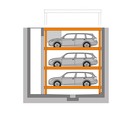 MultiBase U3 by KLAUS Multiparking   Mechanic parking systems