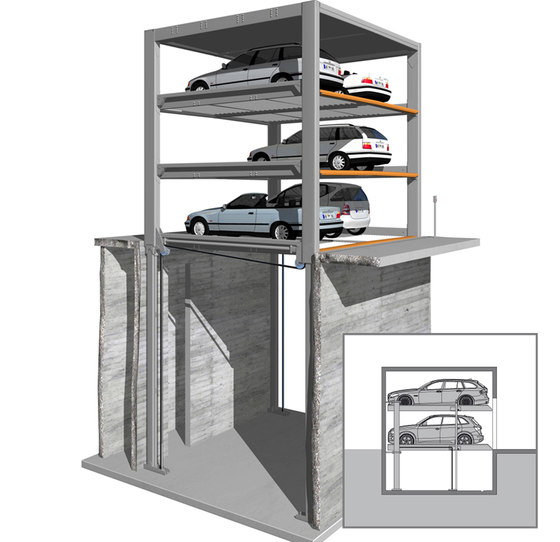 MultiBase U3 by KLAUS Multiparking | Automatic parking systems