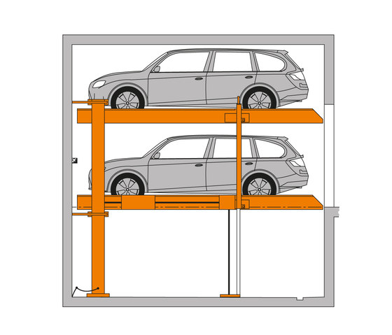 MultiVario 2082 by KLAUS Multiparking | Car parking systems