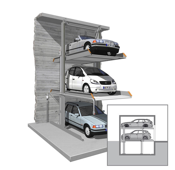 SingleUp 3015 by KLAUS Multiparking | Parking systems