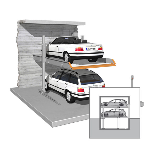 SingleVario 2061 by KLAUS Multiparking | Mechanic parking systems