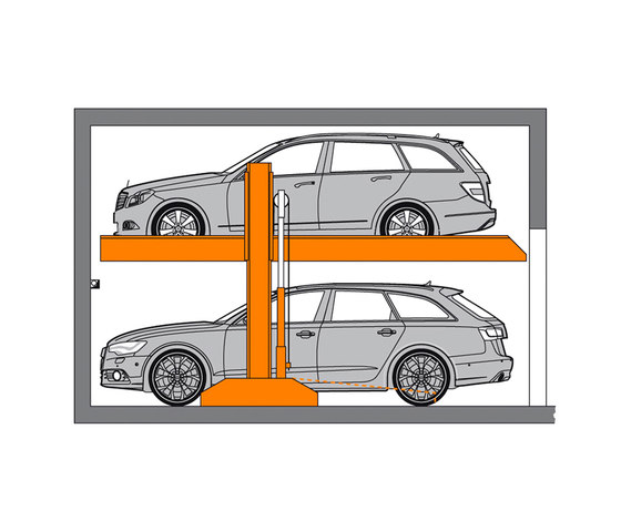 SingleVario 2061 by KLAUS Multiparking | Parking systems