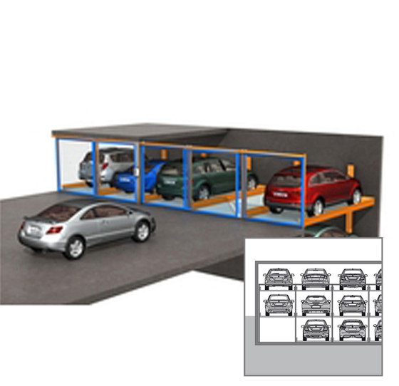 TrendVario 4100 by KLAUS Multiparking | Semi automatic parking systems