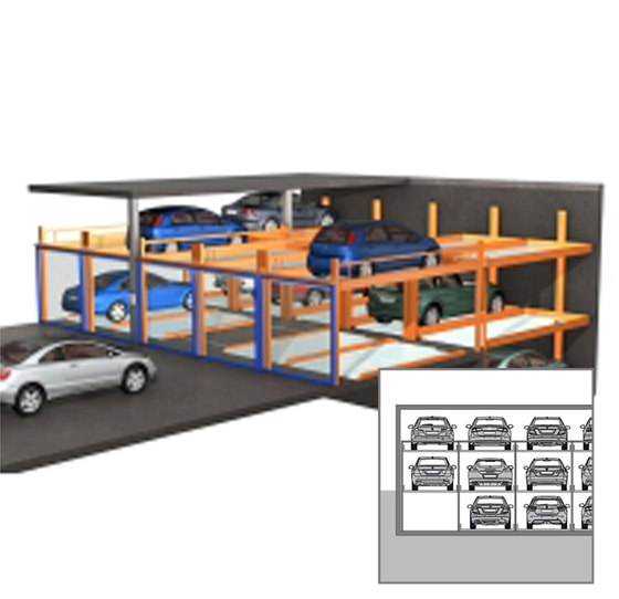 TrendVario 4000 by KLAUS Multiparking | Semi automatic parking systems