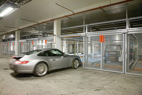 TrendVario 4200 by KLAUS Multiparking | Semi automatic parking systems