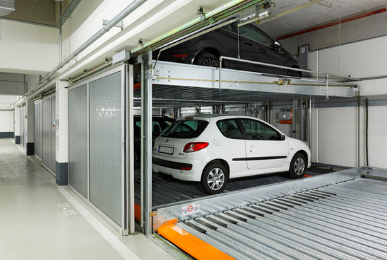 TrendVario 4300 by KLAUS Multiparking | Semi automatic parking systems