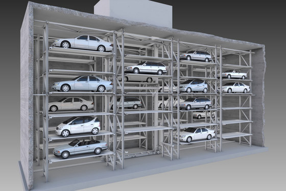 MasterVario R3C by KLAUS Multiparking | Automatic parking systems