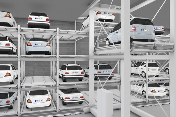 MasterVario R3L by KLAUS Multiparking | Parking systems