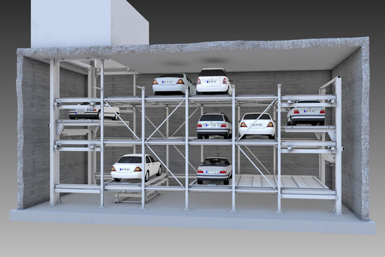 MasterVario F2 by KLAUS Multiparking | Parking systems