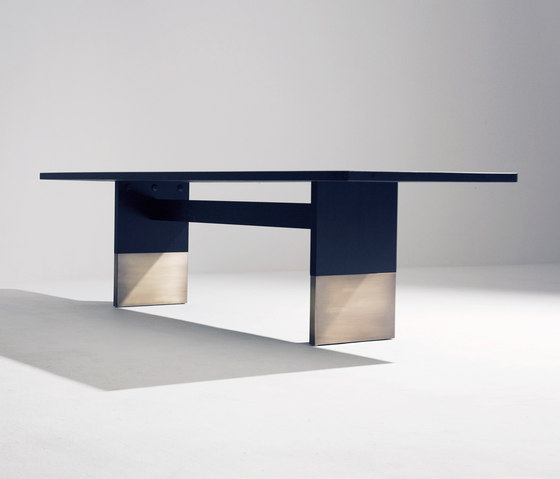Nota Bene dining table rectangular by Van Rossum | Dining tables