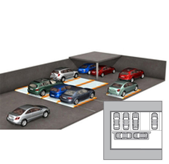 ParkBoard PQ by KLAUS Multiparking | Mechanic parking systems