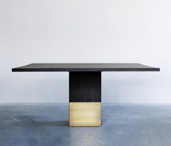 Nota Bene dining table square by Van Rossum | Dining tables