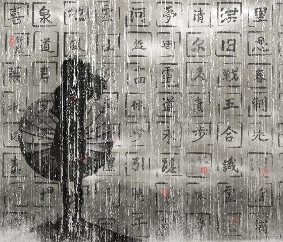 Drops from Heaven by Wall&decò | Wall art / Murals