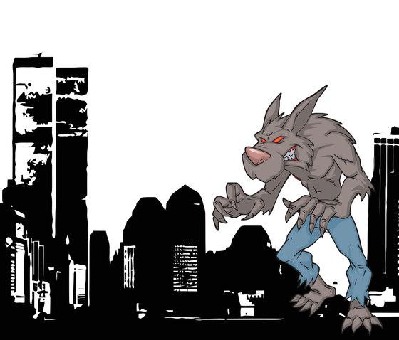 New York under Attack 2 von Wall&decò | Wandbilder / Kunst