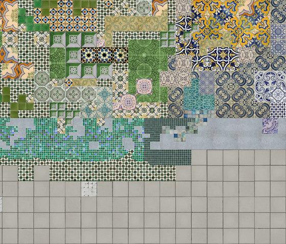 Tell me Tiles di Wall&decò | Carta da parati / carta da parati