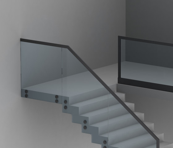 Alu Glass by LEDsON | Handrails